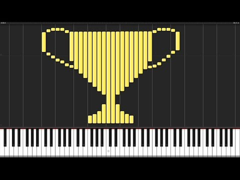 We Are The Champions - Queen [Piano Tutorial] (Synthesia)