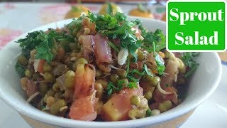 How to Cook Healthy Sprout Salad