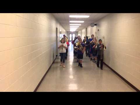 Dowagiac Middle Schoolers Learning to March!
