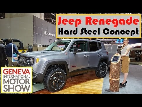 Lifted Renegade Trailhawk >> Jeep Renegade Hard Steel Concept, live photos at 2015 ...