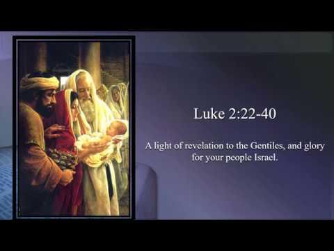 Presentation of the Lord – OT – A - Gospel - Luke 2:22–40 – A light of