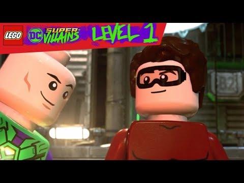 LEGO DC Super Villains Level 1 - Ashnflash Is Born!