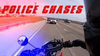 Cops vs Bikers 2018 | Chases & Getaways