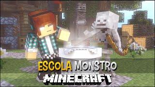 Minecraft Escola Monstro #09 - Como Fazer Um Mob  !!  Monster School
