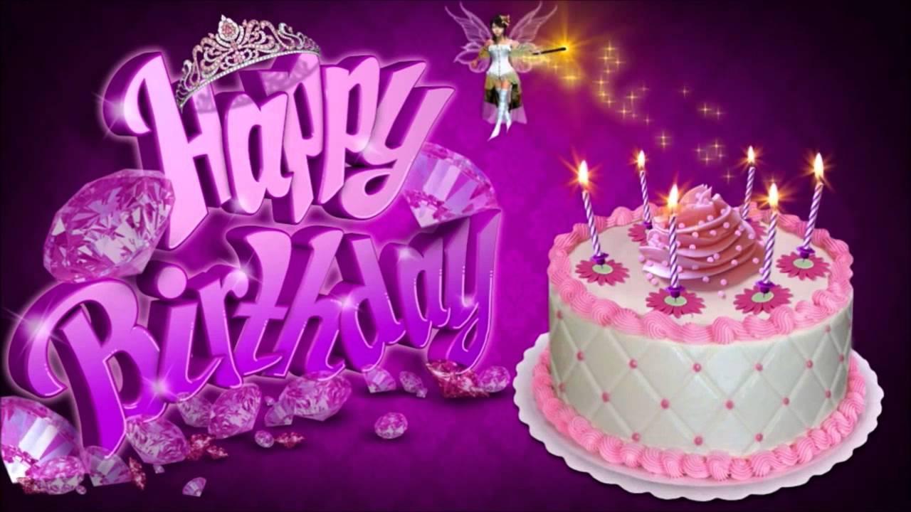 Happy Birthday Sandra Youtube