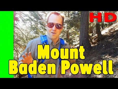 Hiking Mt Baden Powell from Vincent Gap Hike