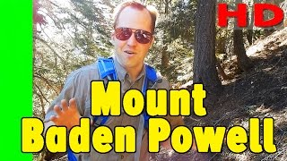 Download Hiking Mt Baden Powell from Vincent Gap Hike