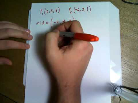 Find an equation for the plane consisting of all points that are equidistant from the points SD