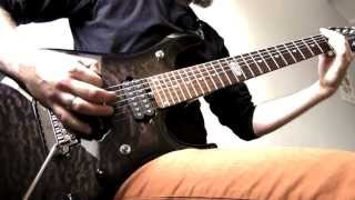 7 string (put some metal genre here) riff in drop a