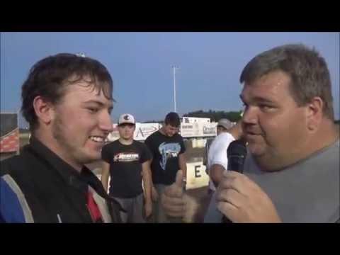 Salina Speedway *Fan Appreciation* night Coors Light IMCA Stock cars 9-18-16