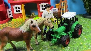 Surprise Toys  Happy Cute Animal Farm! Sorpresa Juguetes  Happy Farm animal lindo!