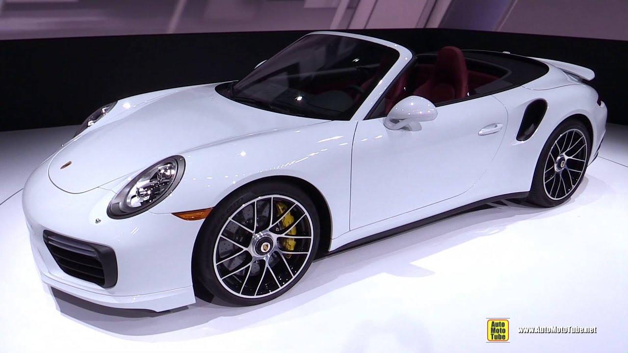 2017 Porsche 911 Turbo S Convertible  Exterior and Interior