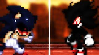 Sonic.EXE VS Dark Fleetway Sonic - Collab