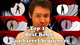 Top 10 Best Bond Gunbarrel Sequences