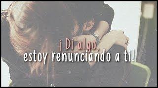 Repeat youtube video Say something - A great big world & Christina Aguilera (Traducida al español)
