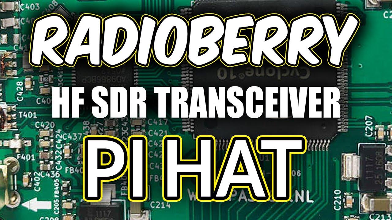 Download RADIOBERRY - HF SDR TRANSCEIVER PI HAT