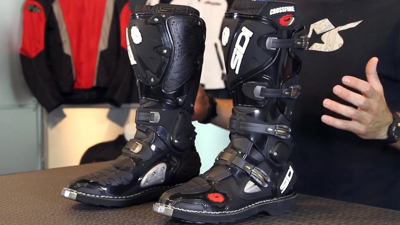 Sidi Crossfire Boots From Motorcycle Superstore Com Youtube