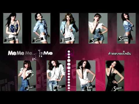 Trick - SNSD [Karaoke - Thai Sub]