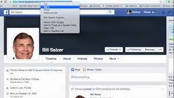 How to find your Facebook profile link and set your FB custom username