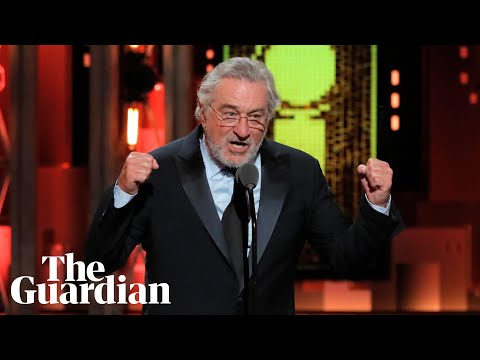 Robert de Niro's 'Fuck Trump' speech at Tony awards