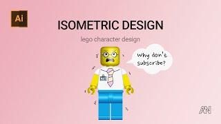 레고 케릭터 일러스트 (Lego Character Il…