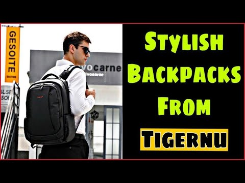 Download 5 Cool Backpacks Tigernu From AliExpress