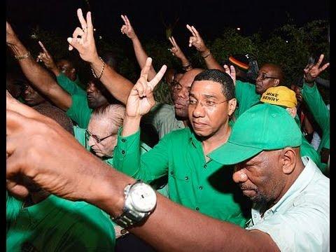 JLP defies historic trend to upset PNP 33-30