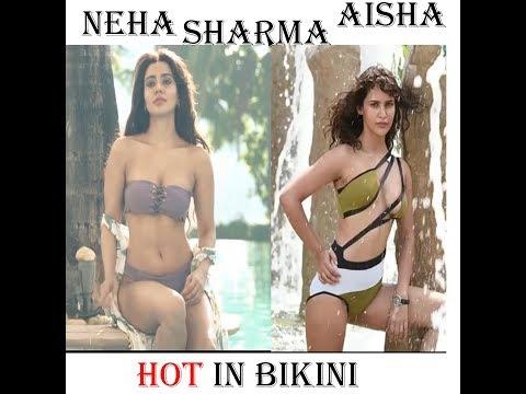 Hot bollyhood Sisters in Bikini- Neha Sharma Vs Aisha Sharma thumbnail