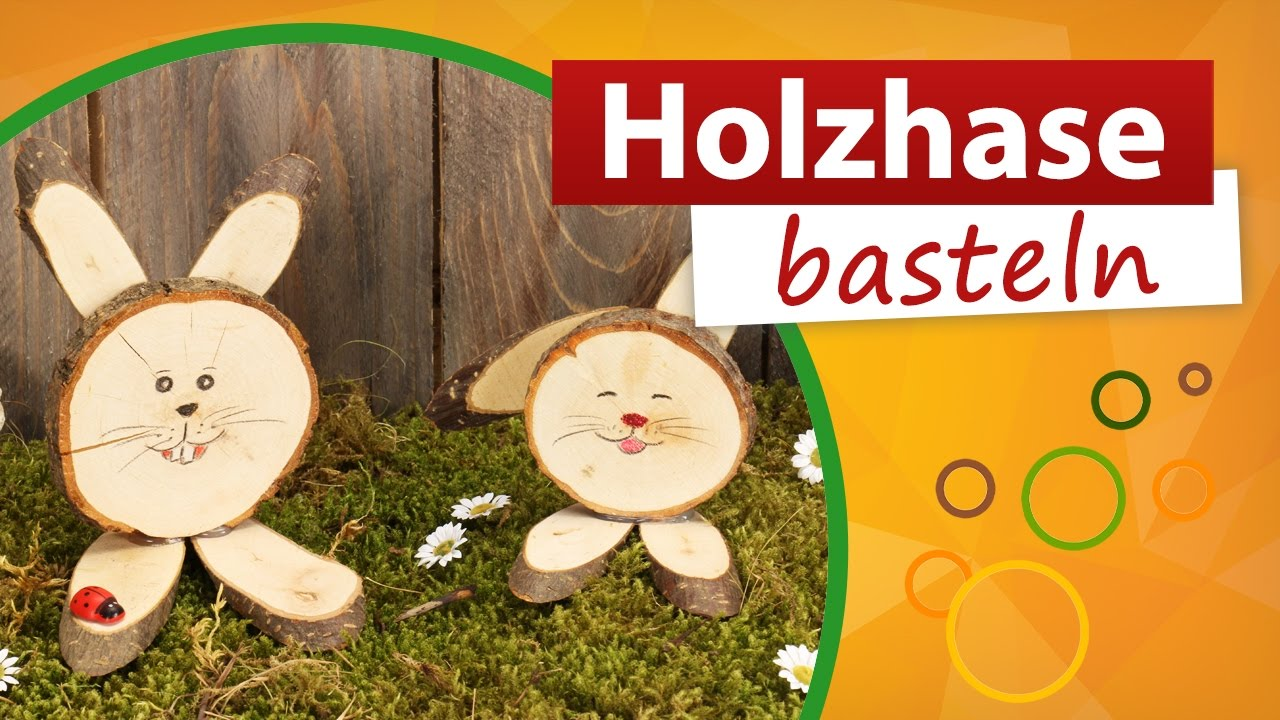 holzhase basteln osterhasen aus holz trendmarkt24 bastelidee diy deko youtube. Black Bedroom Furniture Sets. Home Design Ideas