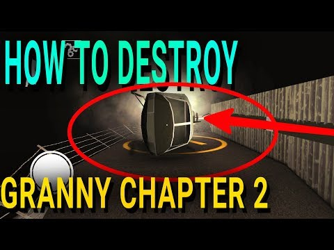 Granny Chapter 2 How To Destroy THE HELICOPTER Gameplay New Update 1.1