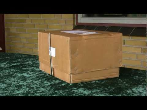 How a very strong, 6-inch neodymium magnet is delivered via post