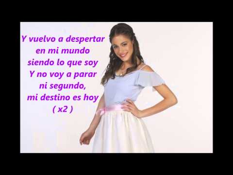 Violetta En mi mundo paroles Videos De Viajes