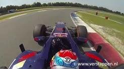 Max Verstappen exclusive footage onboard STR, outlap TT Circuit Assen, 01/08/2015