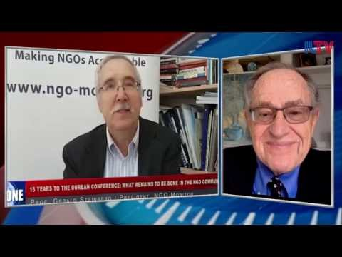 Prof. Gerald Steinberg with Alan Dershowitz, Durban Revisited, Sept  8, 2016 English