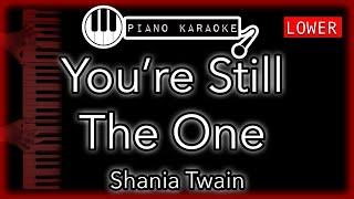 Download Mp3 You're Still The One  Lower -3  - Shania Twain - Piano Karaoke