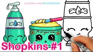 How to Draw Shopkins La