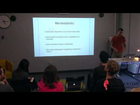 Algorithms & data structures by Sergey Skrobotov, software engineer at Apple