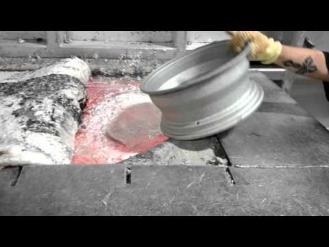 Melting Aluminum Rims