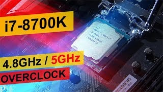 Intel i7-8700K Overclocked to 5GHz! -- The Performance Gains