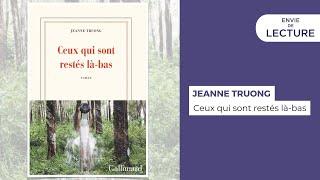 Envie de lecture – Emission de juin 2021. Rencontre avec Jeanne Truong