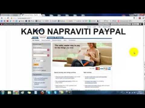 Kako izraditi PayPal račun