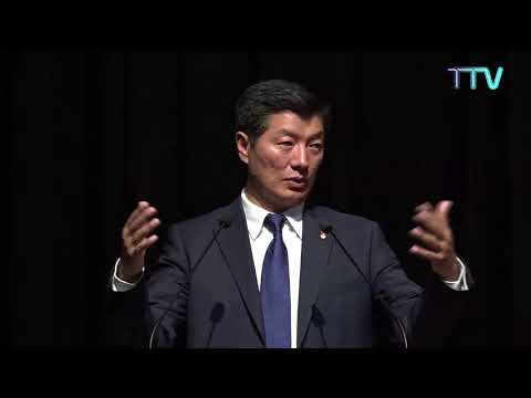 CTA President Dr Lobsang Sangay Delivers Public Lecture on 'Role of India and Future of Tibet'