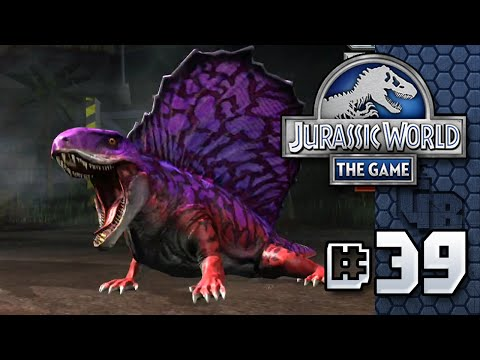 Scary Face || Jurassic World - The Game - Ep 39 HD