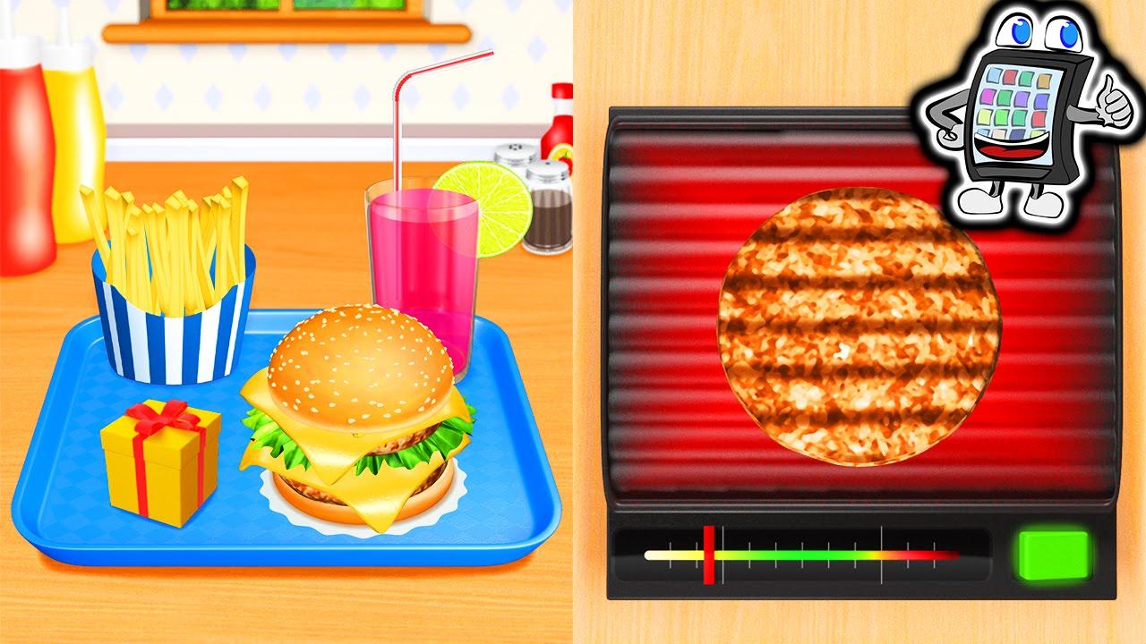 burger maker deluxe deutsch heftige burger selber machen app f r android ios youtube. Black Bedroom Furniture Sets. Home Design Ideas