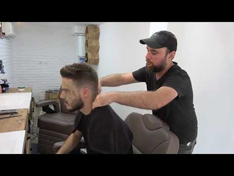 ASMR Turkish Barber Face,Head and Body Massage 176