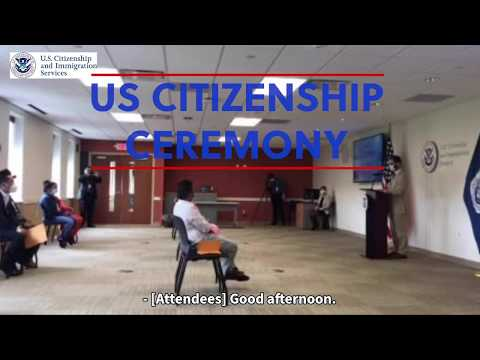 Citizenship Ceremony 2020 - USCIS Pittsburgh - #WorldRefugeeDayPGH