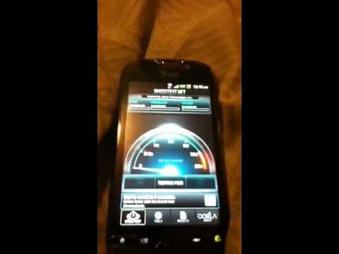 T mobile 4g speed test Sacramento California