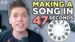 Making a song in 47 seconds