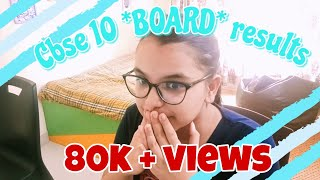 Reacting to my *CBSE*10th *BOARD* results + some clips of my BOARDS Journey!!