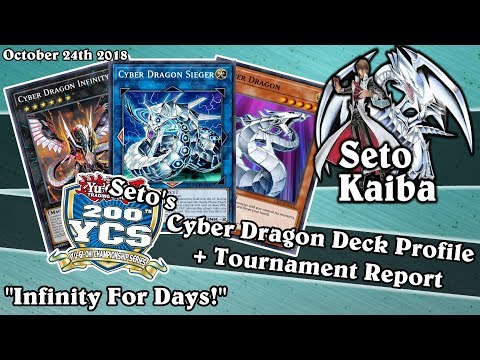 "Seto's YCS 200 Cyber Dragon Deck Profile + Tournament Report! | ""Infinity For Days!"""